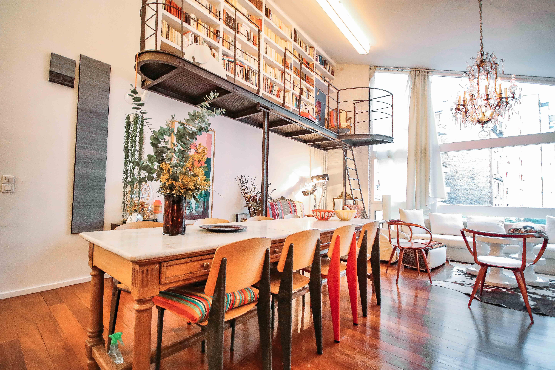 salle de réunion style corbusier