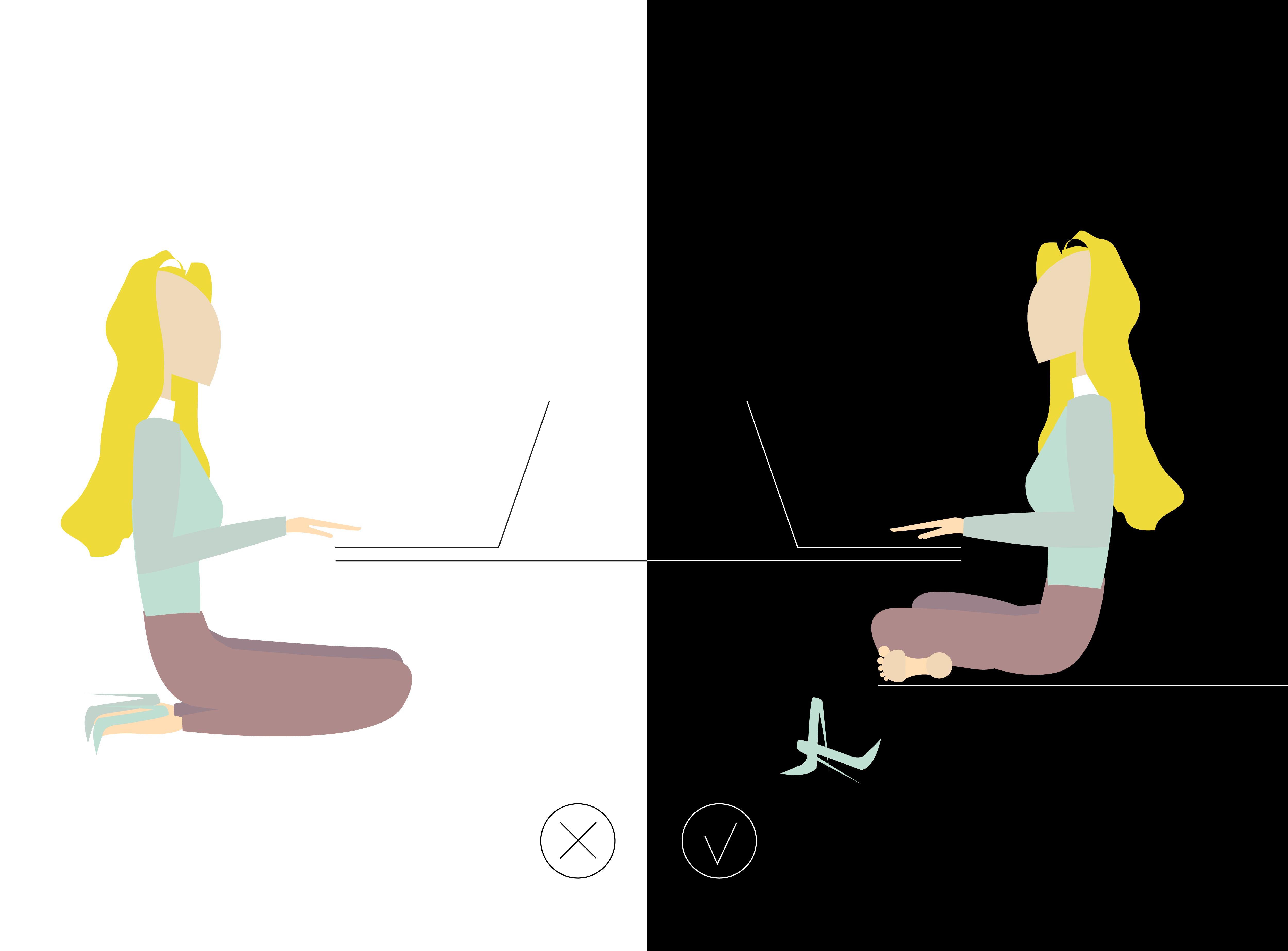 travailler assis sans avoir mal au dos kamasutra jobasutra workasutra