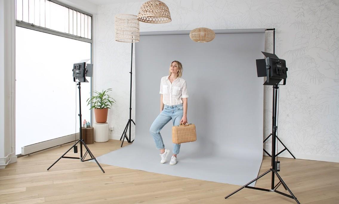 location studio shooting photo