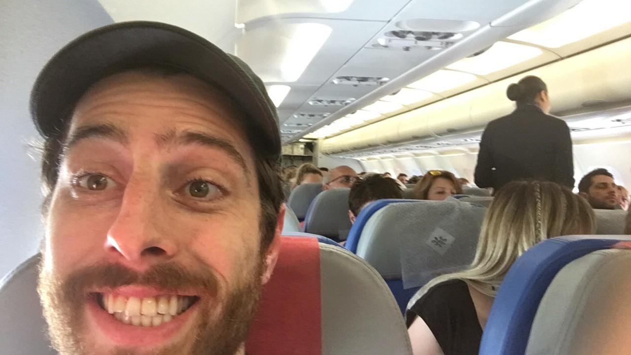 Walid avion Washington