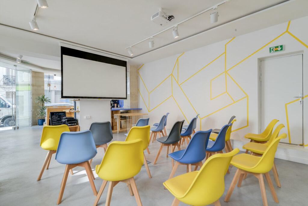 La Galerie espace coworking quartier dynamique des Batignolles à Paris