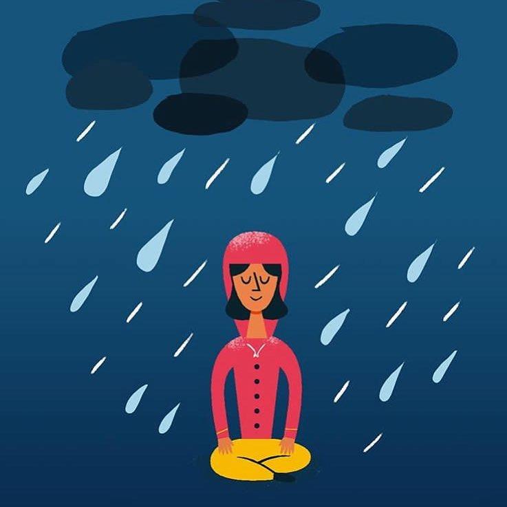 Visuel de l'application de méditation Mind by My Little Paris