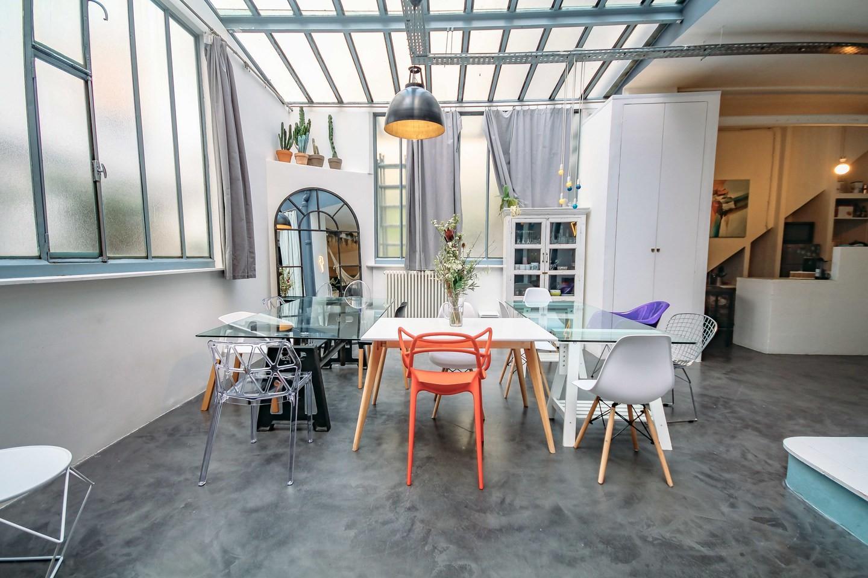 Loft parisien sur OfficeRiders, 750e/jour