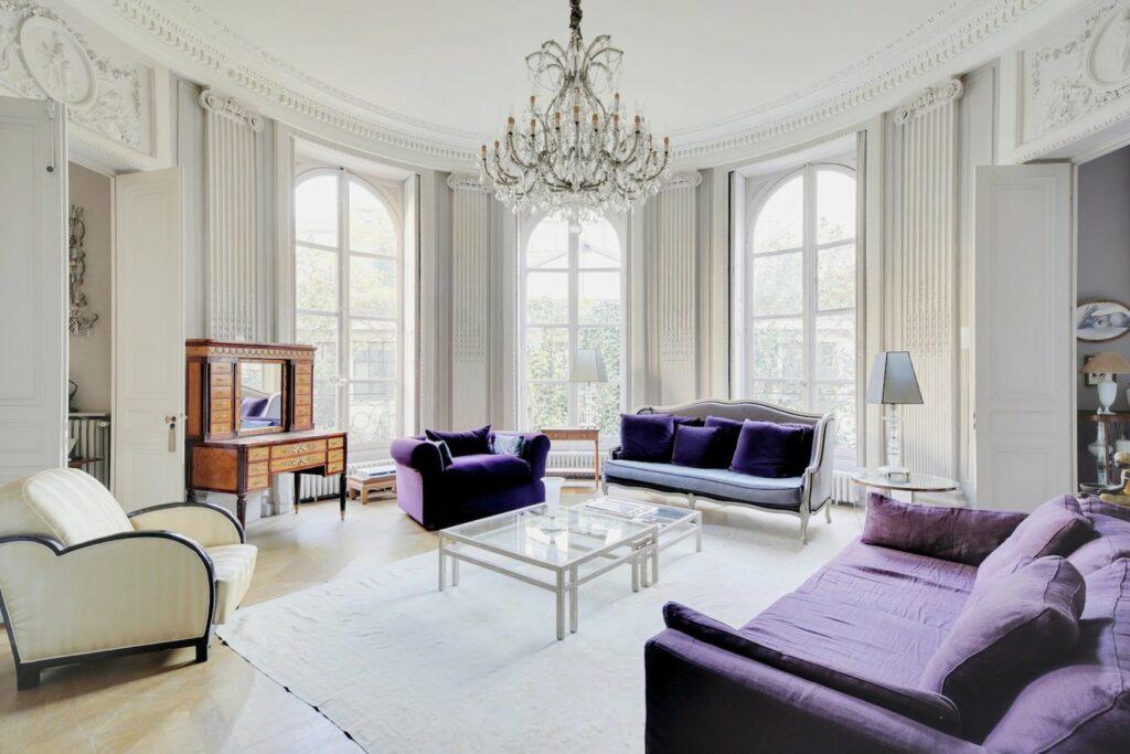 L'appartement aux touches raffinées et élégantes