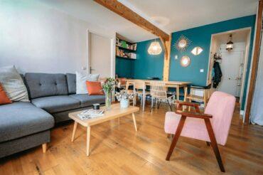 Bel appartement chaleureux