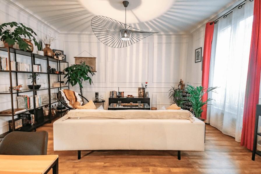 Un appartement habilement décoré par des fans d'architecture d'intérieur