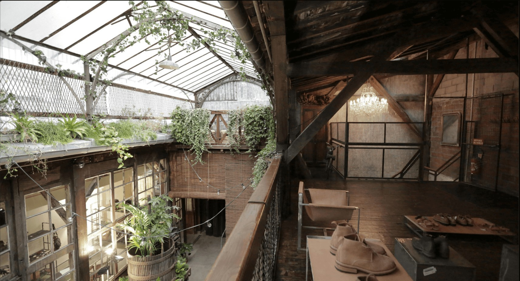 espace fashion week paris jardin hiver