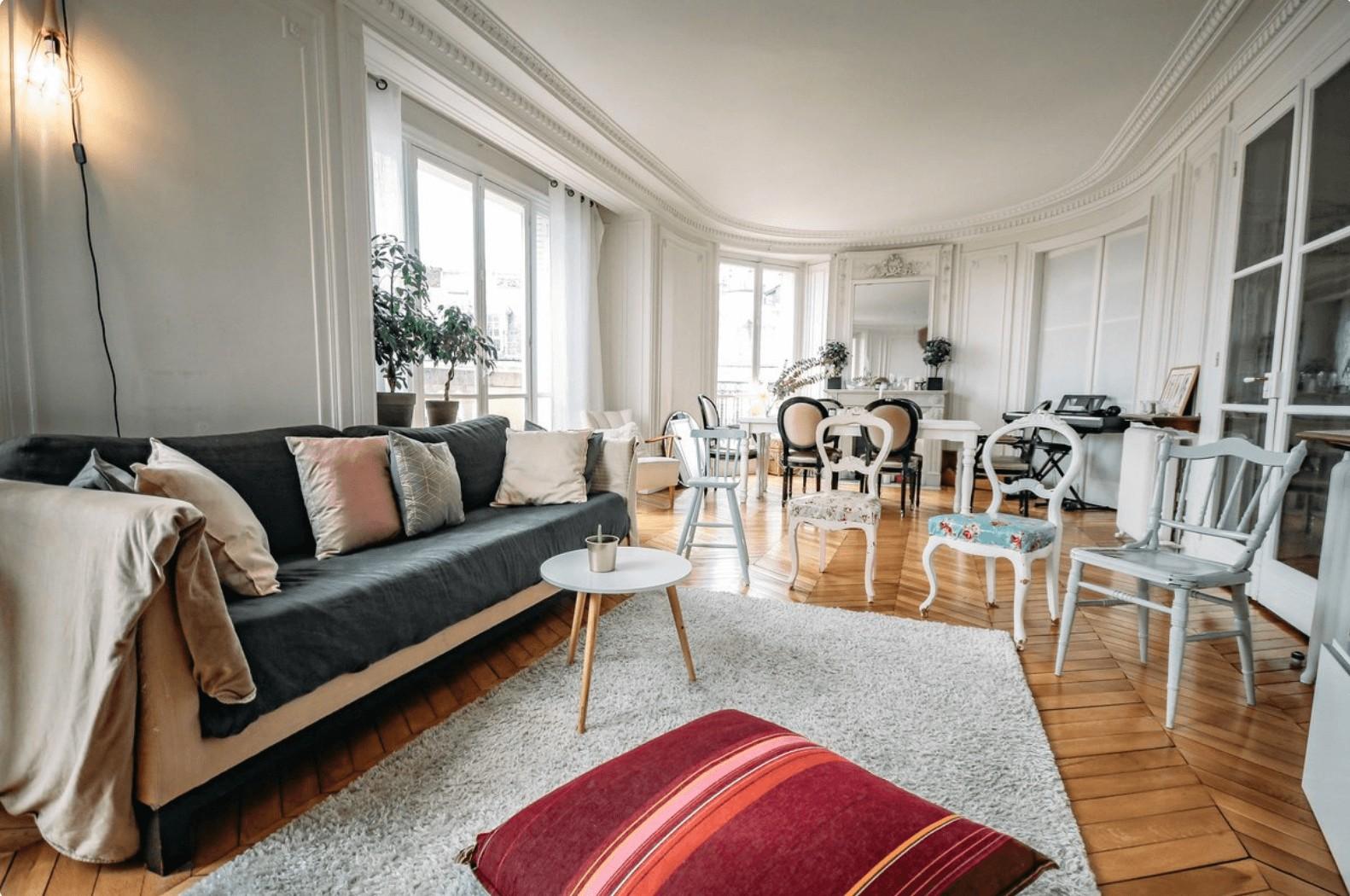 appartement haussmannien paris interview