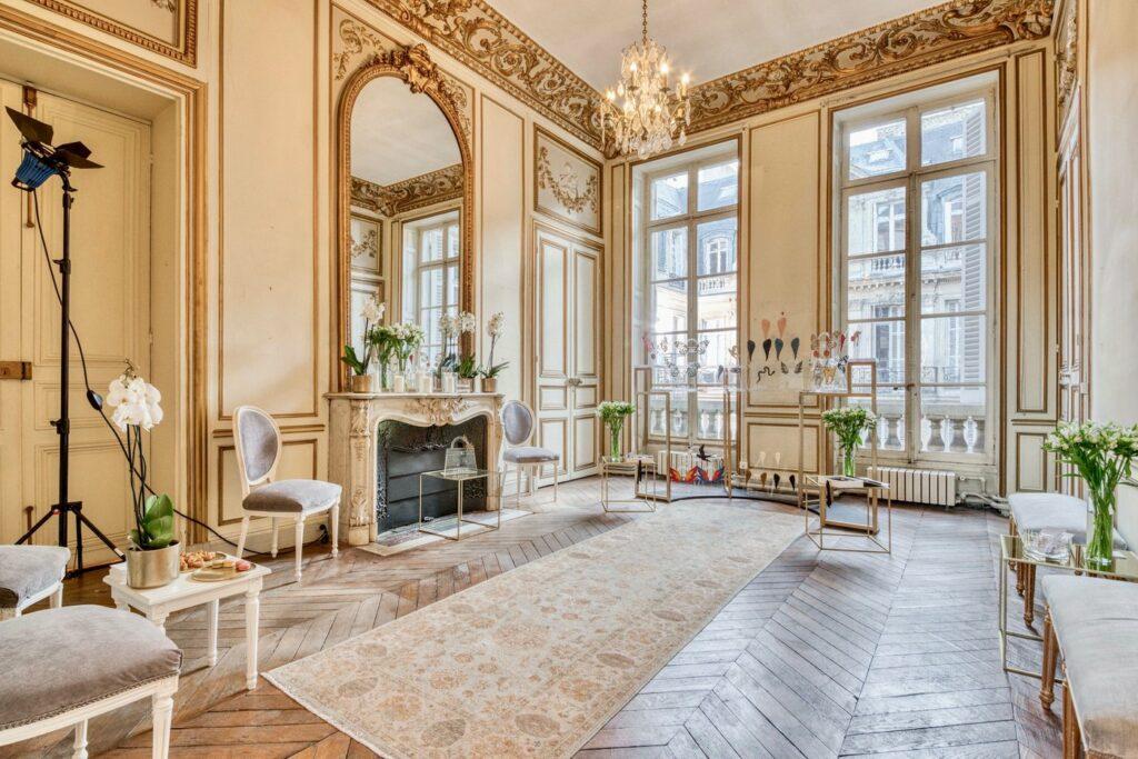 L'hôtel particulier parisien de Laurence