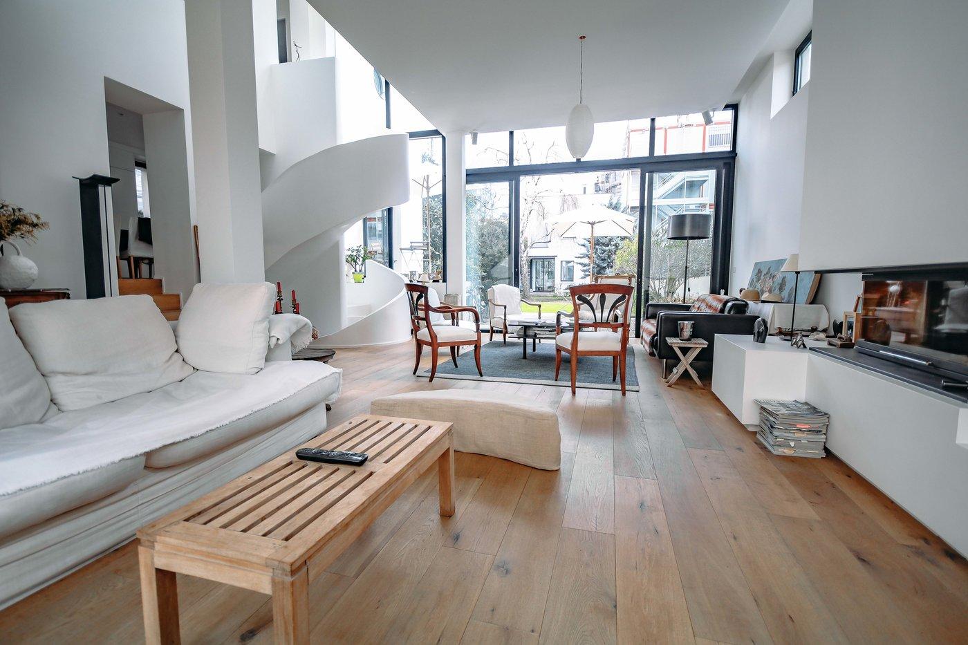 La maison d'architecture contemporaine à Paris
