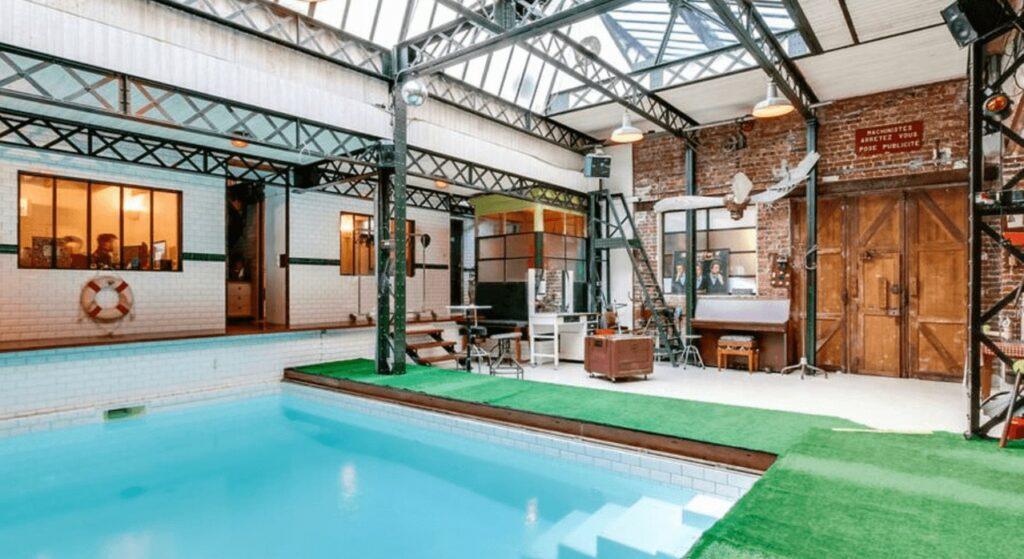 loft atypique piscine menilmontant