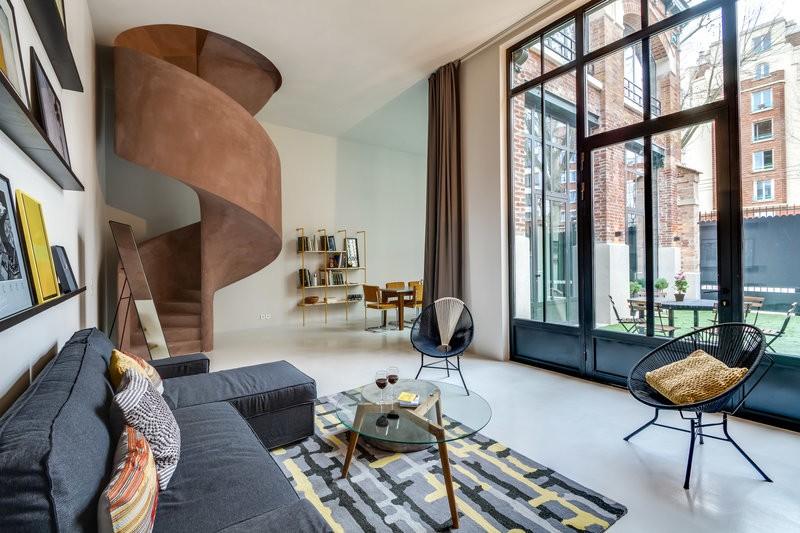 Un appartement design avec terrasse privée pour vos réunions à Paris 14