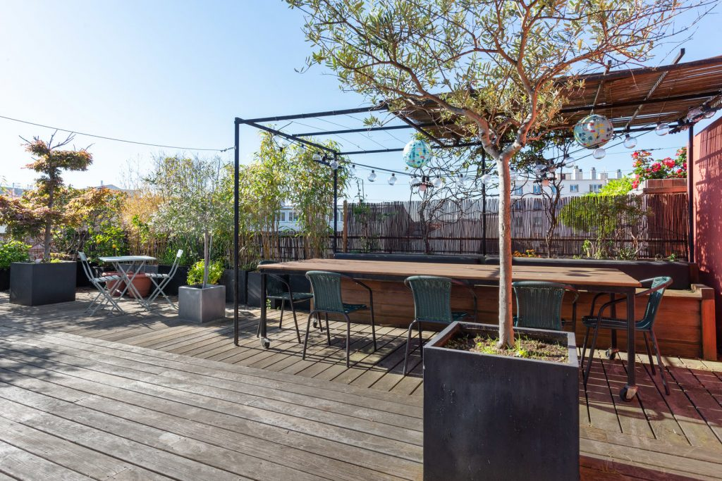 Chez Véronique - Superbe loft avec rooftop à Montreuil. Calme et ensoleillé, cet espace est idéal pour vos réunions en terrasse