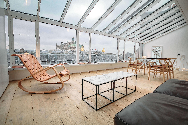 Appartement design avec vue sur l'Opéra Garnier