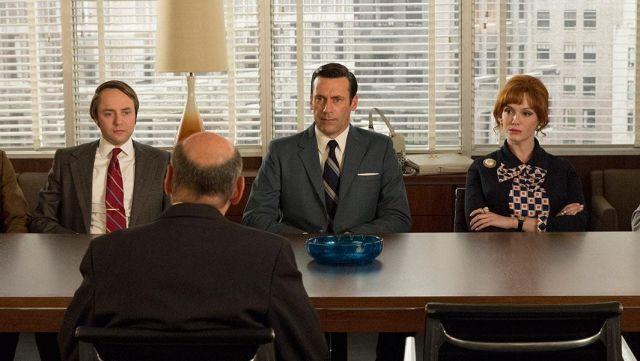 La salle de réunion de la série Mad Men