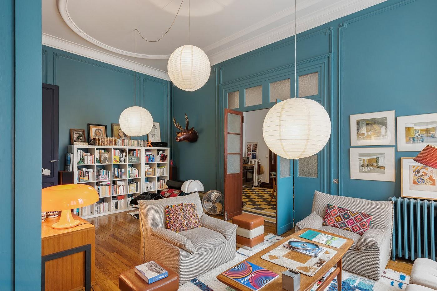 Une maison au style vintage et colorée, parfaite pour les réunions entre collègue à Bordeaux.