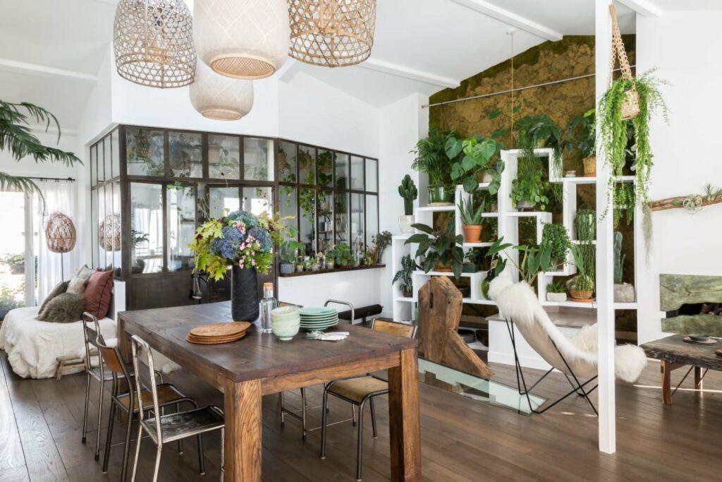 Grand loft végétal dans le 20ème arrondissement