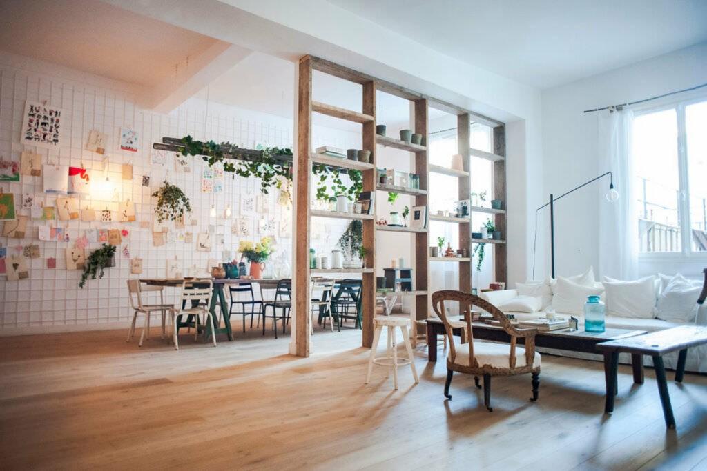 Ancien atelier de confection végétal et créatif